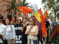 La soberanía reside en el pueblo. Masiva manifestación contra el Puerto de Granadilla.