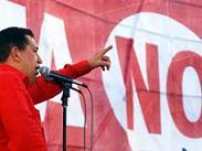 "Venezuela decide su fututo. ""A ¡Uh, Ah, Chávez no se va!"". Vota no."